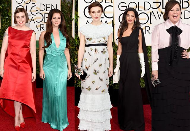 Los vestidos menos acertados de los Golden Globes 2015