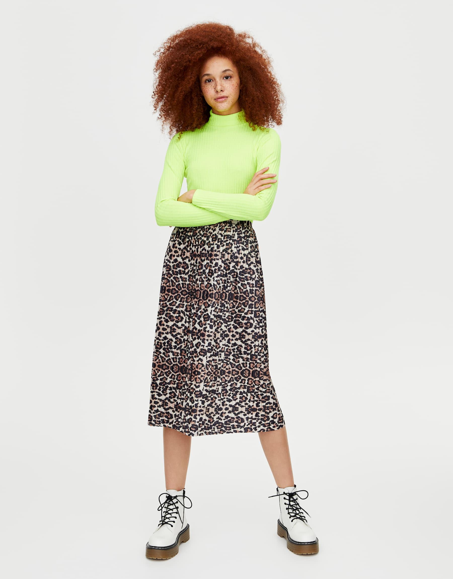 falda leopardo 2019