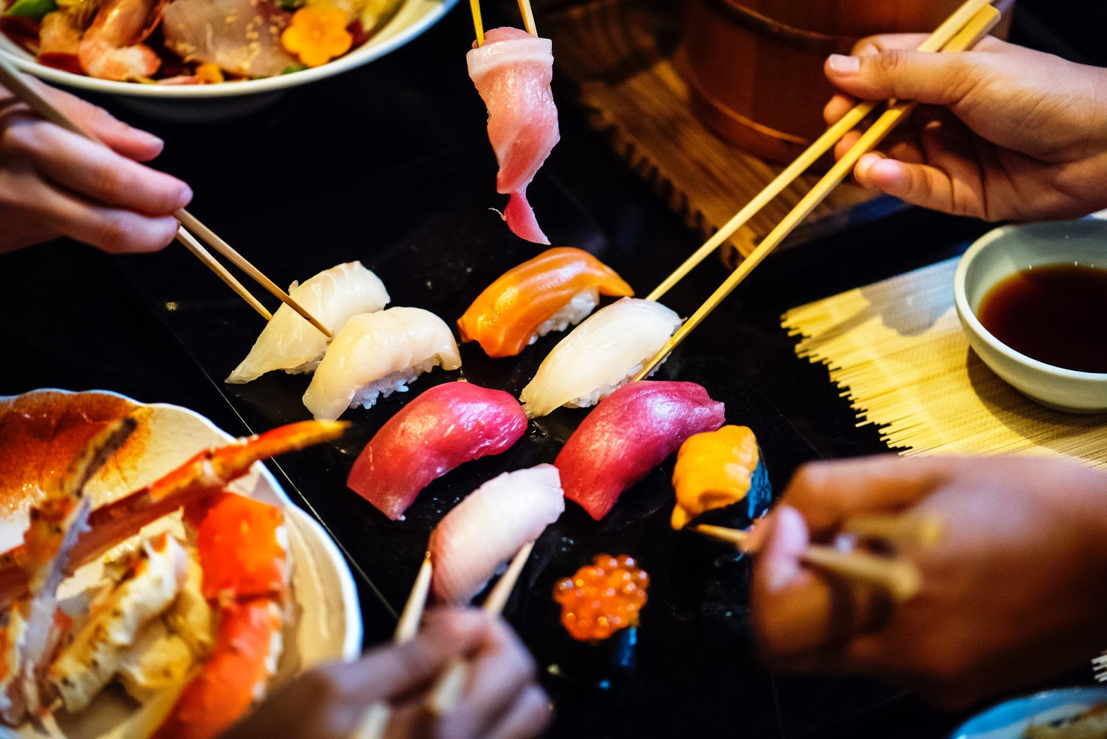 cena temática japón